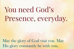 You Need God's Presence