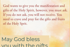 The Manifestations Of The Spirit