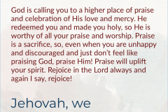 Higher Place Of Praise