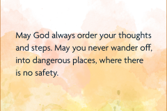 May God Always Order Your Thoughts